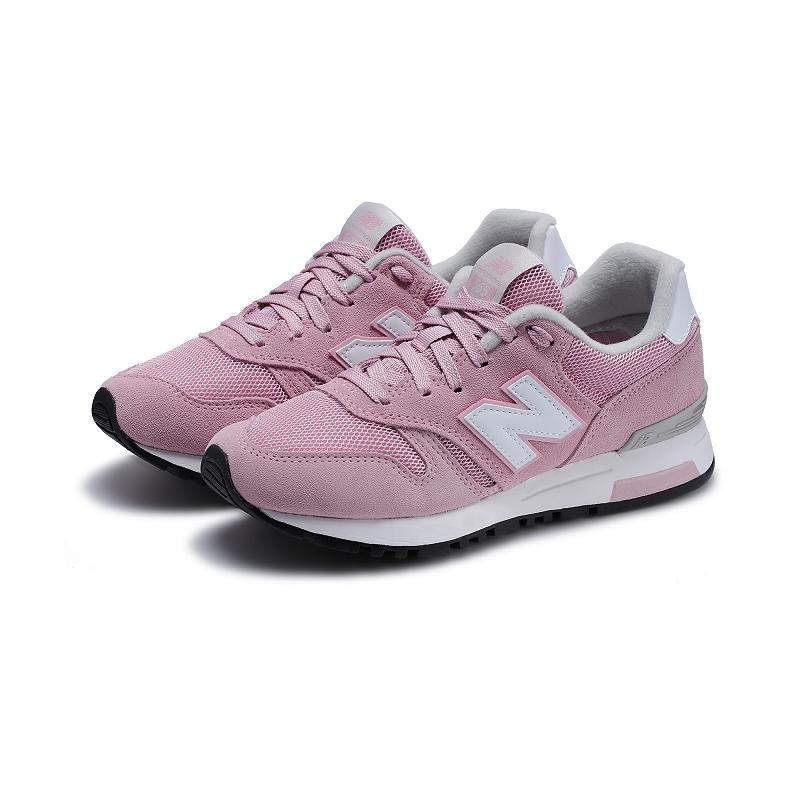 new balance 565系列 WL565AS 系带 女士运动休闲鞋 粉色 35
