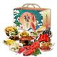 朱鸿兴 家宴十二道 半成品年夜饭礼盒 129元包邮(需用券)