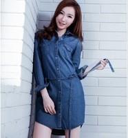 Moodylime ML-SS16-D096 女士牛仔連衣裙