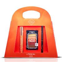 银联专享:L'Oréal Paris 巴黎欧莱雅 电动之夜魅惑美妆礼品套装 睫毛膏+眼影盘+眼线笔