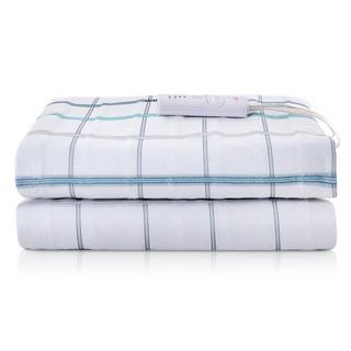 彩虹电热毯双人电褥子安全保护单控可调温一键除螨 除湿排潮花色随机 *3件