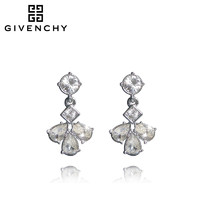 Givenchy/纪梵希 FLOATER系列玫瑰 施华洛世奇人造水晶女士耳坠
