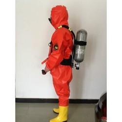 耐酸碱防化服 防护服 轻型连体液氨氨气防全密封封闭重型防毒衣 全密封 L