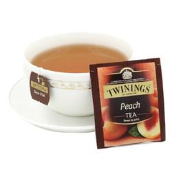 TWININGS 川宁 蜜桃果香红茶茶包 50g