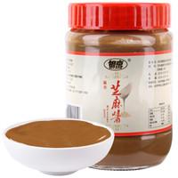 银京 混合芝麻酱 350g 火锅蘸酱 凉菜 热干面 拌面酱 *10件
