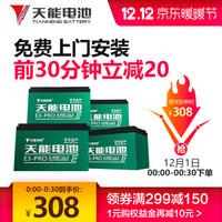天能  E3-PRO 48v12ah 电动车铅酸蓄电池