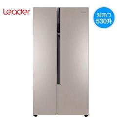 海尔出品Leader/统帅 BCD-530WLDEB对开门双门变频无霜电冰箱家用