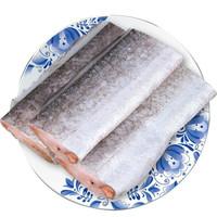渔港 渤海四去精品带鱼段 刀鱼1300g(24-28段)*3件+澳洲谷饲牛排200g +凑单品