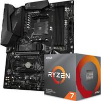 技嘉X570 GAMING X 主板  AMD 锐龙7 3700X 板U套装/主板 CPU套装