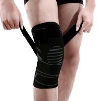 威尔胜 Wilson 针织加压绑带透气防滑护膝男女跑步健身登山篮球护膝WTBH-702 *8件