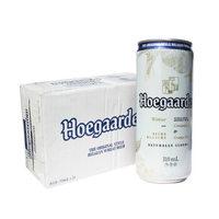 限地区、京东PLUS会员 : Hoegaarden 福佳啤酒 白啤酒比利时风味 310ml*4听*6组 *4件