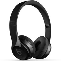 Beats Solo3 Wireless 头戴式 蓝牙无线耳机 手机耳机 游戏耳机 - 炫黑色 MNEN2PA/A+凑单品