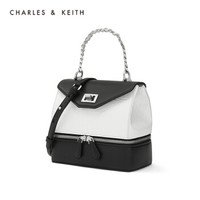 CHARLES&KEITH 女包CK2-50780967 金属链条饰手提单肩包