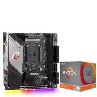 华擎(ASRock)X570 Phantom Gaming-ITX/TB3 主板+AMD 锐龙9 3900X 板U套装