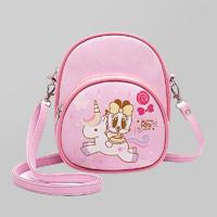 BOBDOG巴布豆女童时尚可爱手提韩版立体出游幼儿园小孩斜挎包