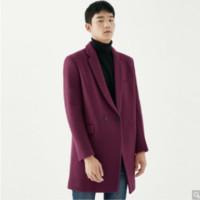 GXG 174226595100 男士羊毛混纺大衣