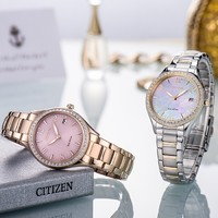 CITIZEN 西铁城 EO1184-81D 女士时装手表