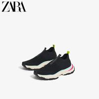 ZARA新款 童鞋女童 多色鞋底运动鞋老爹鞋 13414003040