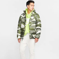 Nike 耐克 Sportswear Down Fill Windrunner BV4764 男子印花连帽夹克