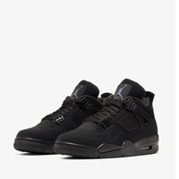 NIKE 耐克 AIR JORDAN 4 black cat 男子篮球鞋