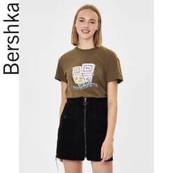 Bershka 07530987505 卡通印花T恤