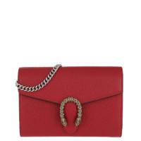 GUCCI 古驰 Dionysus系列 女士链条单肩包 401231CAOGX8990 红色