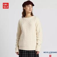 UNIQLO 优衣库  422608 女士圆领针织衫