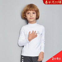 ABCKIDS 童装 男女童纯棉高领长袖T恤 *2件