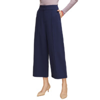 女式高腰直筒阔腿裤
