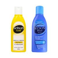 Selsun 去屑止痒洗发水 黄色 紫色 蓝色 200毫升 2件装