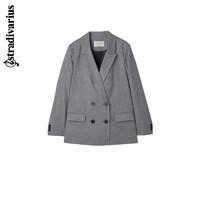STRADIVARIUS 音符 05924381250 双排扣西装外套