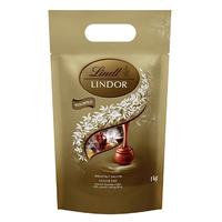 中亚Prime会员 : Lindt 瑞士莲巧克力球混合装 1kg *2件