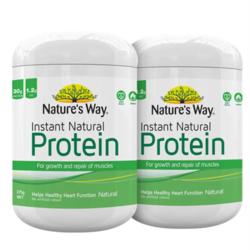 Nature's Way 佳思敏 Protein 即食天然蛋白粉 375g *2件