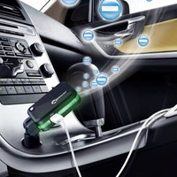 高欣G3车载空气净化器600万负离子氧吧杀菌除味双USB正反车充氧吧 二合一