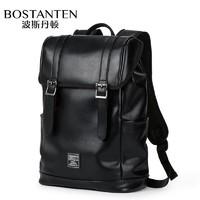 波斯丹顿背包男双肩包男士休闲旅行包旅游笔记本电脑14英寸书包