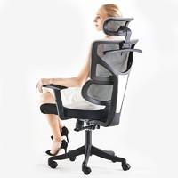 欧奥森 办公椅  S138-02-灰黑