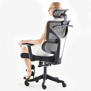 历史低价 : ouaosen 欧奥森 S138-01 人体工学可调节座椅