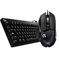 Logitech 罗技 G610 机械键盘   G502 主宰 游戏鼠标 键鼠套装