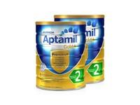 Aptamil 澳洲爱他美 婴儿奶粉金装 2段 900克/罐 2罐装