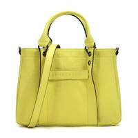 LONGCHAMP 珑骧 1115 Longchamp 3D系列 女士单肩包 荧光黄