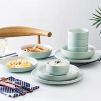 佳佰 十全十美陶瓷餐具套装 10件套