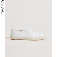 Oysho  11103061002 女士棉质休闲帆布鞋