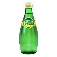 Perrier 巴黎水 天然气泡矿泉水 原味 330ml*24瓶
