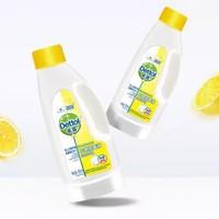 Dettol 滴露 衣物除菌液 清新柠檬 180ml*2瓶 +凑单品