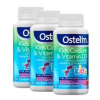 OSTELIN 奥斯特林 儿童维生素D钙咀嚼片 90粒 *3件