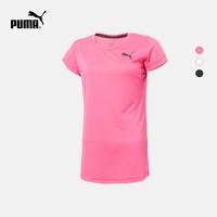 PUMA 彪马 ACTIVE ESS 851774 女子圆领短袖T恤