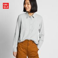 UNIQLO 优衣库 UQ421933000 法兰绒衬衫