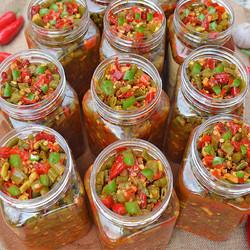 夏科 酸豆角农家自制咸菜泡菜 2瓶
