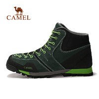 Camel骆驼户外男款徒步鞋 高帮防滑耐磨男士户外鞋