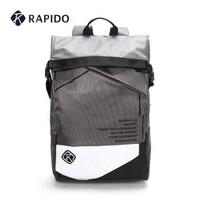 RAPIDO 雳霹道 中性时尚运动包翻盖式双肩包CK86D4B01 深灰色 20升以下